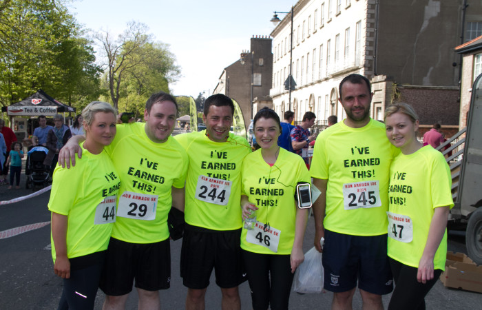 The Emerson's Foundation has been supporting Run Armagh - a race which takes place in Armagh every year. MGMPR_001